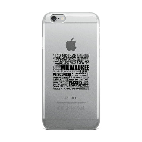 iPhone 5/5s/Se, 6/6s, 6/6s Plus MKE Case