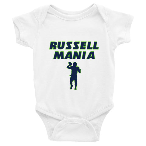"""Russell Mania"" Infant Bodysuit"