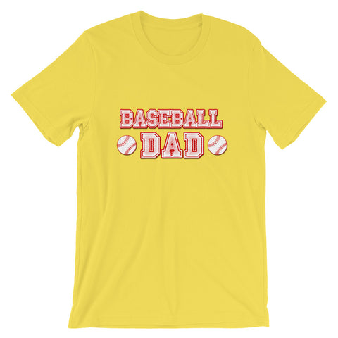 """Baseball Dad"" Short-Sleeve Unisex T-Shirt"