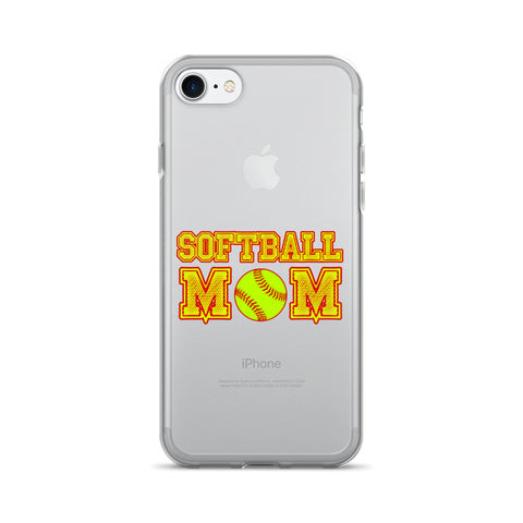 """Softball Mom"" iPhone 7/7 Plus Case"