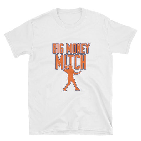 """Big Money Mitch"" Short-Sleeve Unisex T-Shirt"