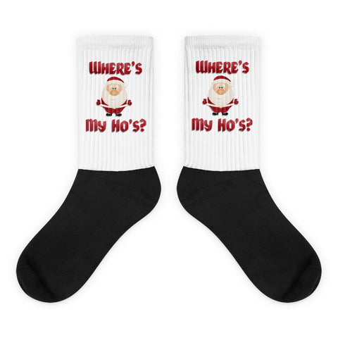 """Where's My Ho's?"" Socks"