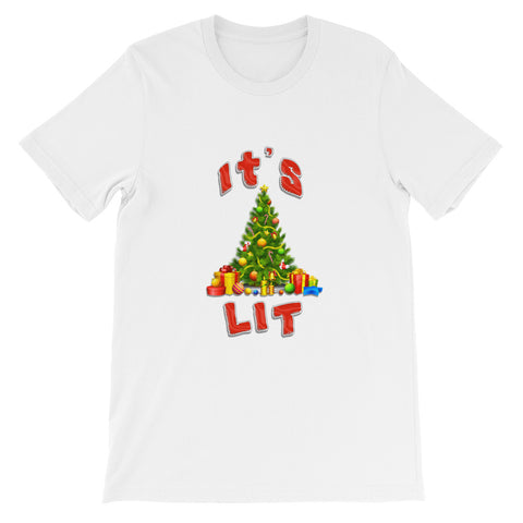 """It's Lit"" Short-Sleeve Unisex T-Shirt"