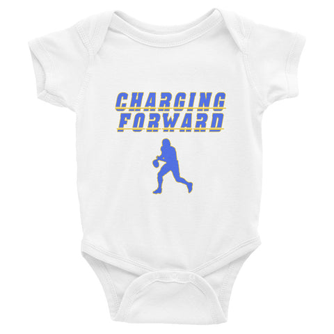 """Charging Forward"" Infant Bodysuit"