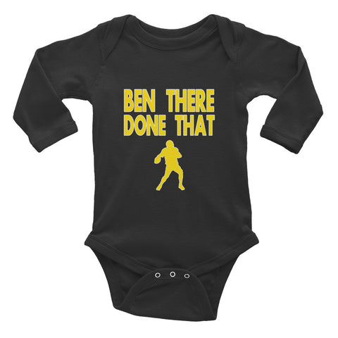 """Ben There Done That"" Infant Long Sleeve Bodysuit"