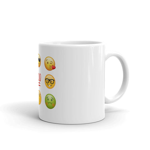 """Emoji Themed"" Mug"
