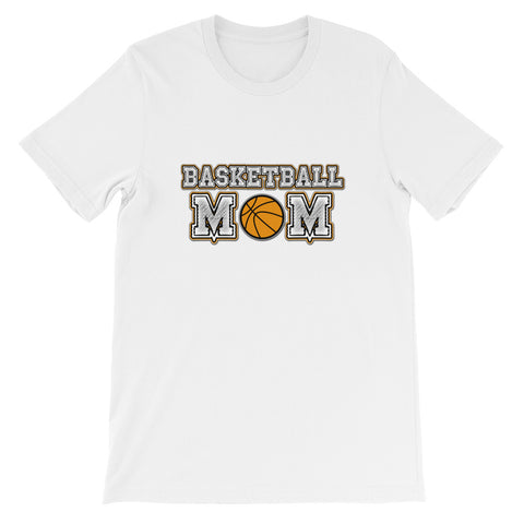 """Basketball Mom"" Short-Sleeve Unisex T-Shirt"