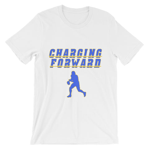 """Charging Forward"" Unisex short sleeve t-shirt"
