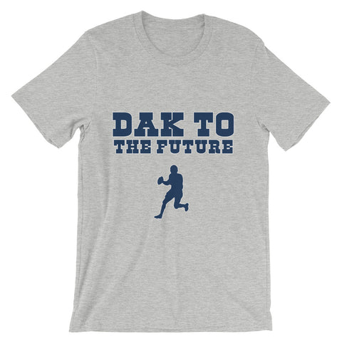 """Dak To The Future"" Unisex short sleeve t-shirt"