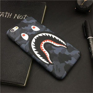 Camo Shark Case For iPhone