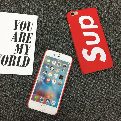 Image of Sup iPhone Case