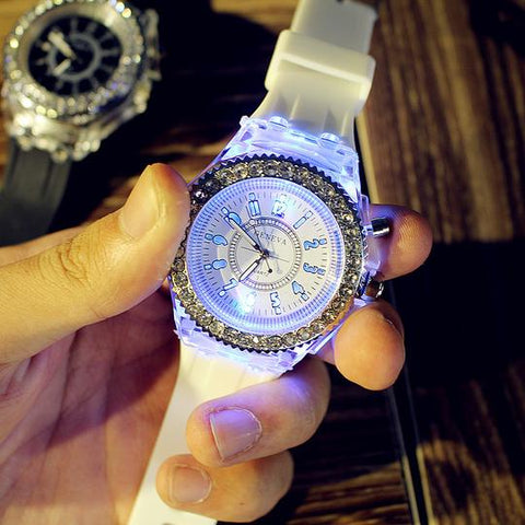 Unisex Led Light Watch