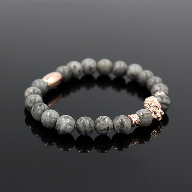 Natural Stone Lion Bracelet - FREE For a Limited Time