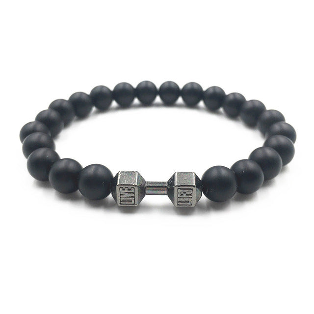 Fitness Dumbbell Bracelet