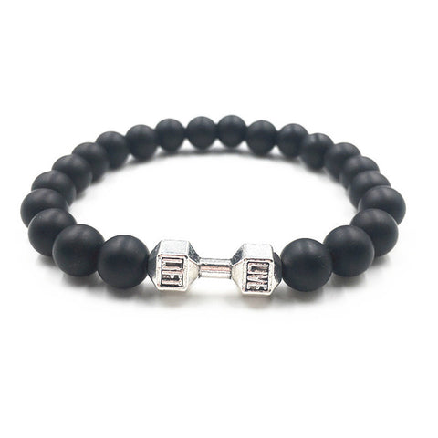 Image of Fitness Dumbbell Bracelet