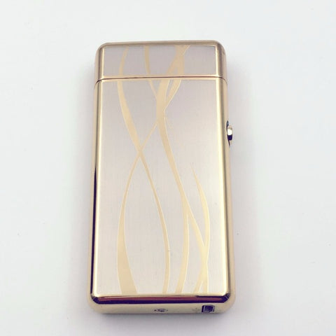 Image of Gold Plated Electronic Lighter
