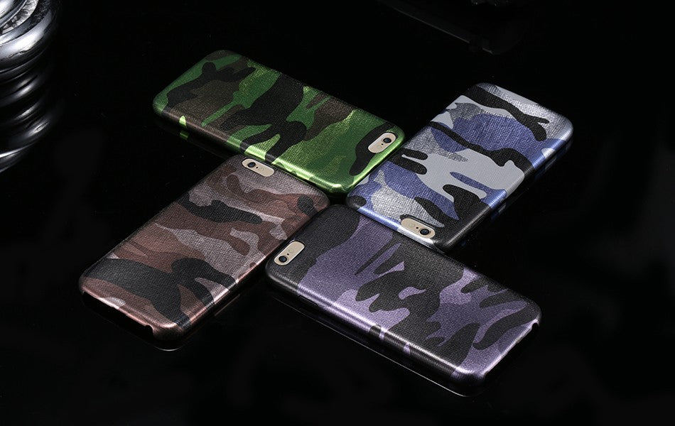 Army Camo Camouflage Case For iPhone