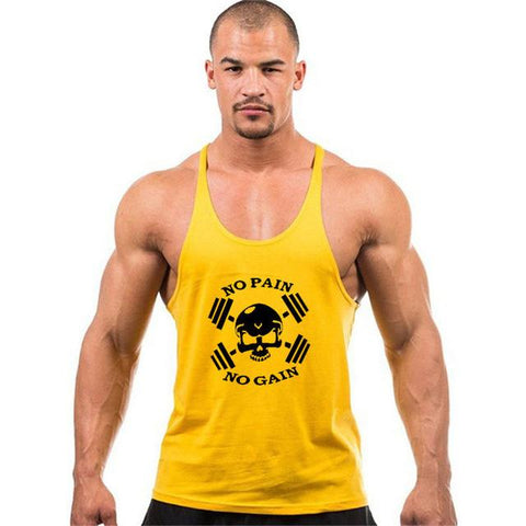Image of Brand clothing Fitness Tank Top For Men