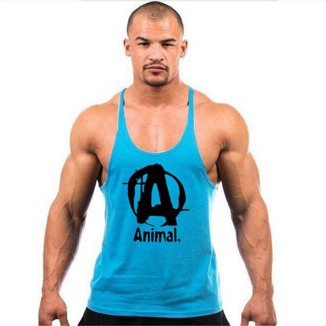 Brand clothing Fitness Tank Top For Men