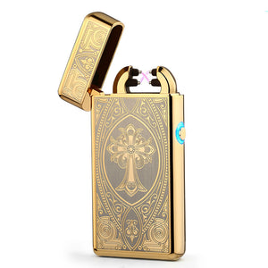 Gold Plated Electronic Lighter