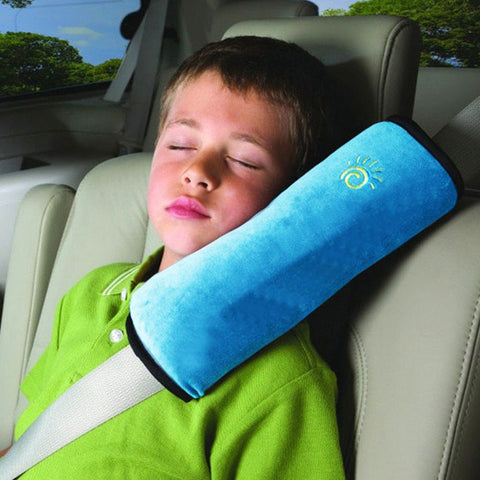 Image of Baby Auto Pillow Car Covers Safety Belt Shoulder Pad Cover