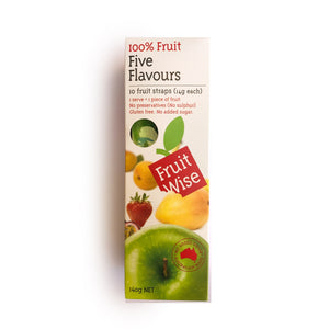 10 Pack Fruit Wise fruit straps (South Australian)