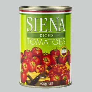 400g Can Siena Diced Tomato