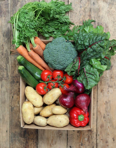 Mixed seasonal vegetable box