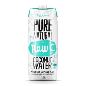 1L Pete Evans Pure Natural Raw C Coconut Water (Thailand)