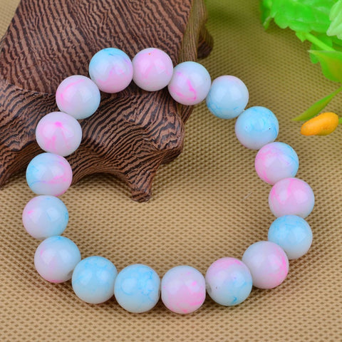 Handmade Natural Stone Glass Beads