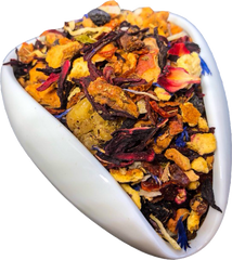 Blueberry Mango Coconut Tisane