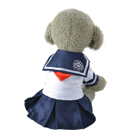 Cute Sailor Dresses for Puppies and Dogs
