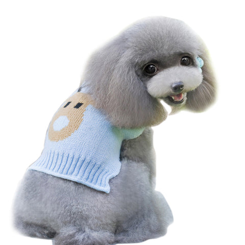 Cute Girl Sweater Dresses for Puppies and Dogs