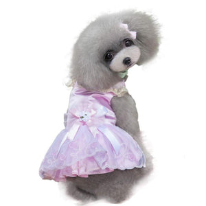 Cute Summer Lace Dresses for Puppies and Dogs