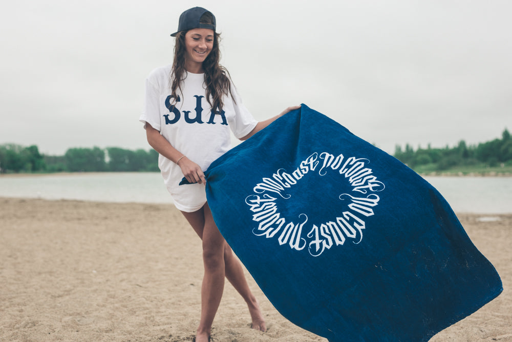 no coast beach towel, winnipeg, streetwear, sja, manitoba, babes, beach, aloha