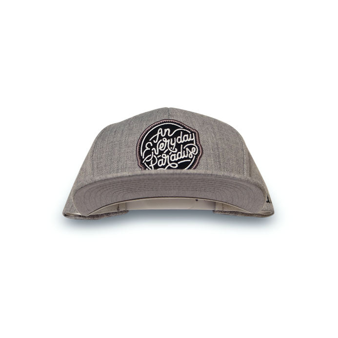 An Everyday Paradise - Grey Snapback