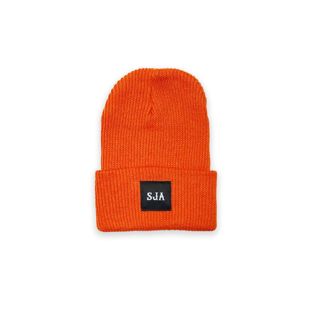 Standard Fisher Knit Toque - Orange