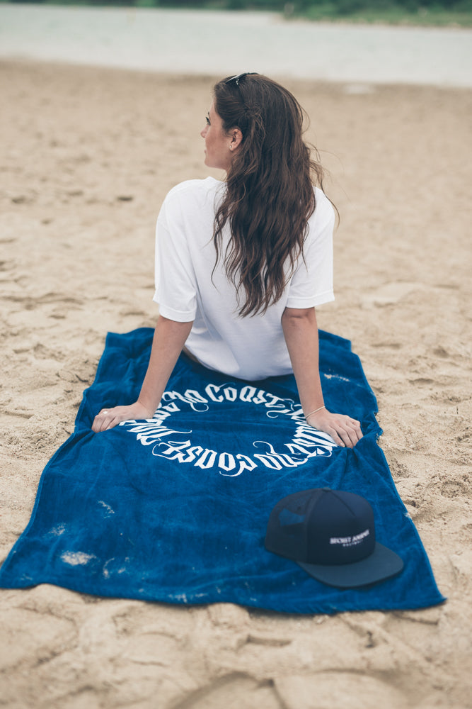 No Coast Beach Towel