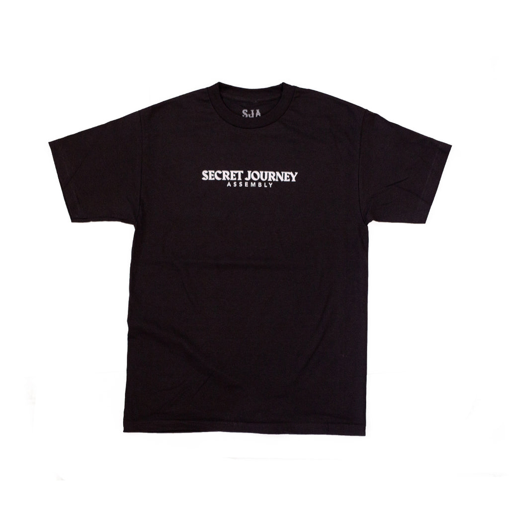 Secret Journey Classic - Black w/ White T-shirt
