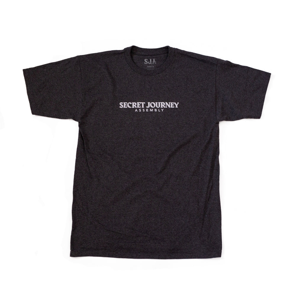 Secret Journey Classic - Charcoal Heather Ringspun T-shirt
