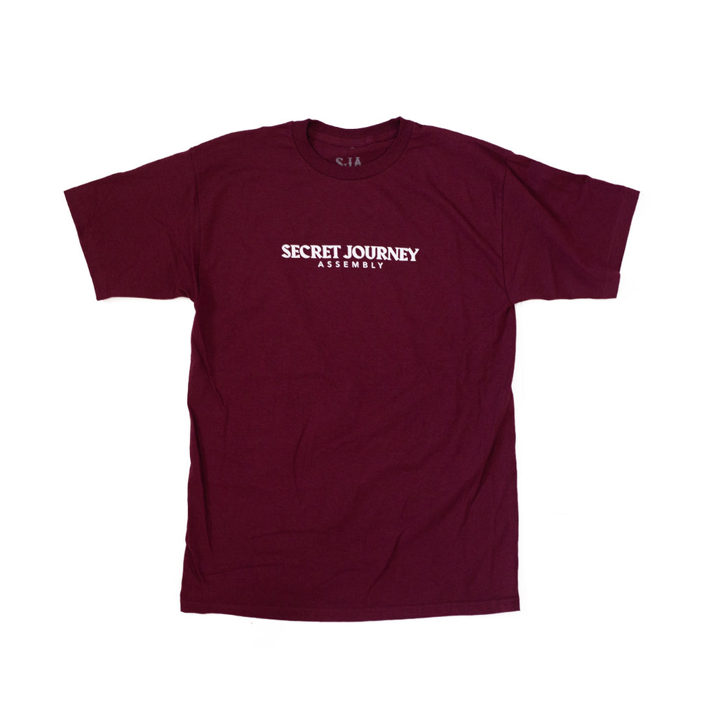 Secret Journey Classic - Maroon Soft Spun T-shirt