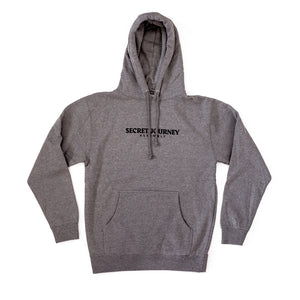Secret Journey Classic - Heather Grey Pull Hood Sweatshirt