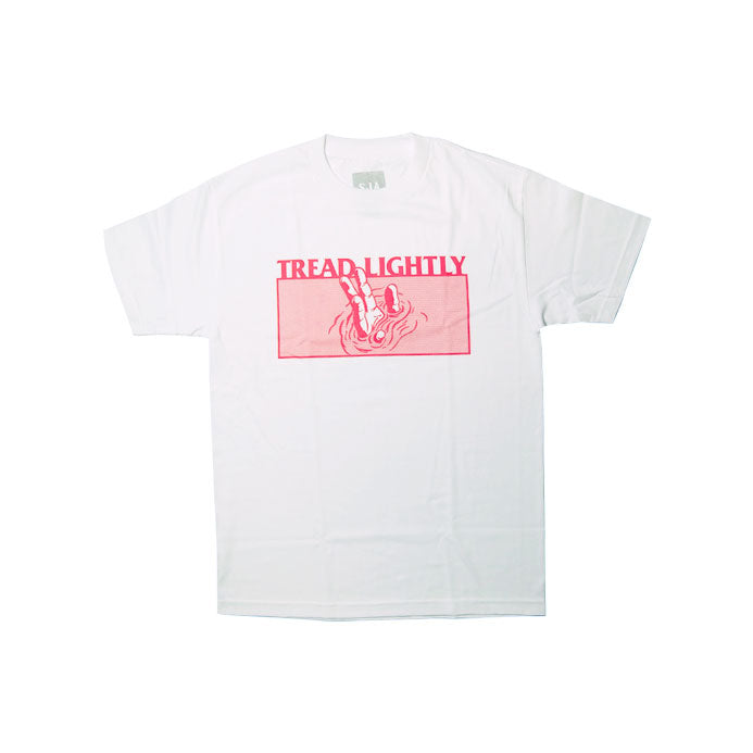 Tread Lightly - White T-Shirt