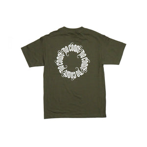 No Coast - Olive T-shirt