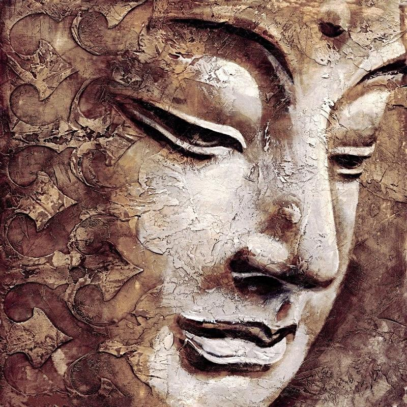 Buddha Wall Art Oil Painting (BD1)