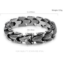 Eternal Dragon Hide Bracelet