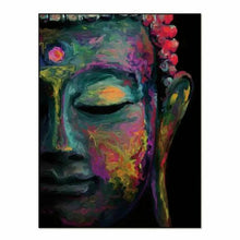 Abstract Calming Buddha Canvas Wall Art