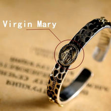 Immaculate Conception Silver Bangle Luxury Bracelet