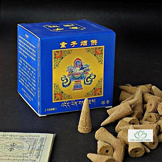 Tibetan Meditation Incense Cone