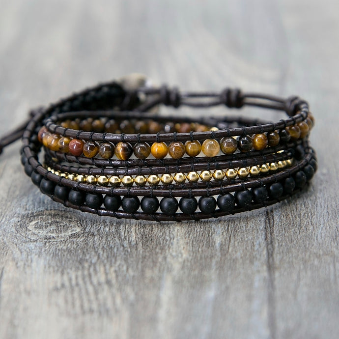 Fearless Warrior Tiger Eye Bracelet